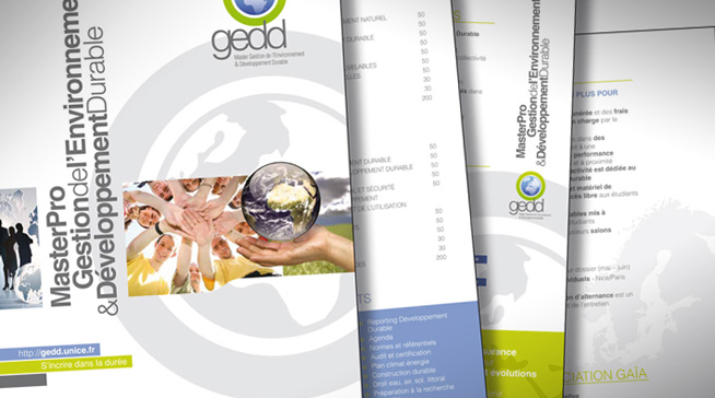 Brochure 4 pages - GEDD