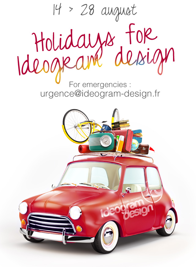 Vacations for ideogram design