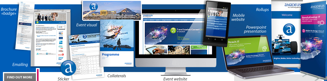 Marketing Amadeus events tools