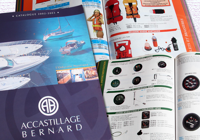 catalogue accastillage bernard